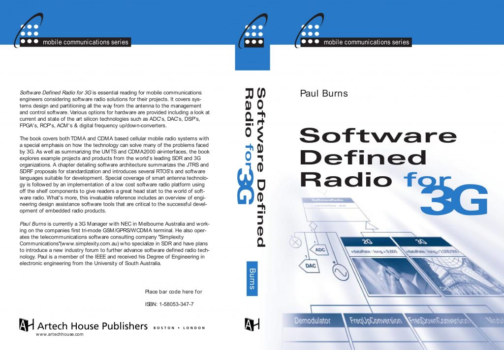 Paul_Burns_Simplexity_SDR For 3G_Book_Cover